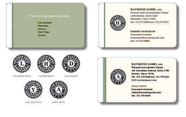 Raymond James Logo Variations