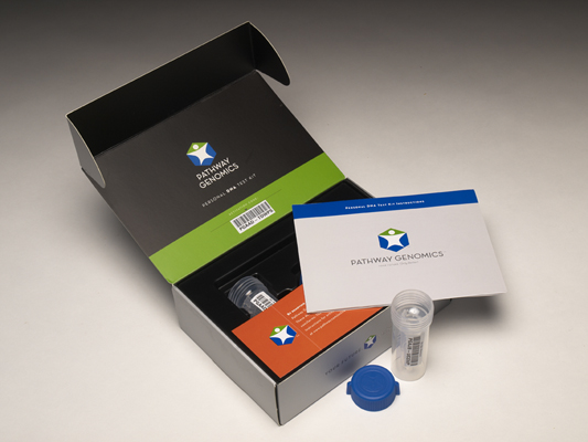 Pathway Genomics Packaging