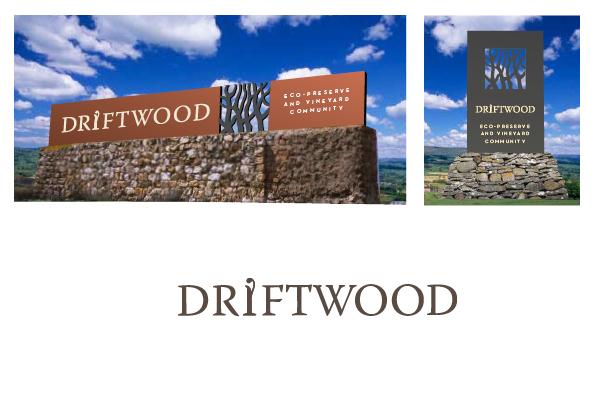 Driftwood Signage