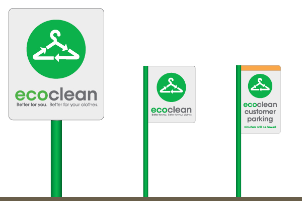 EcoClean Signs