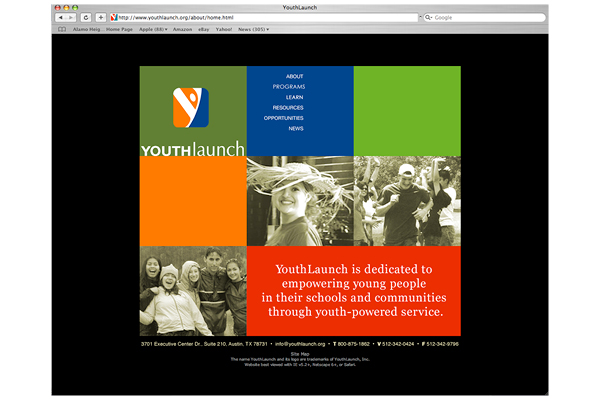 YouthLaunch Signage