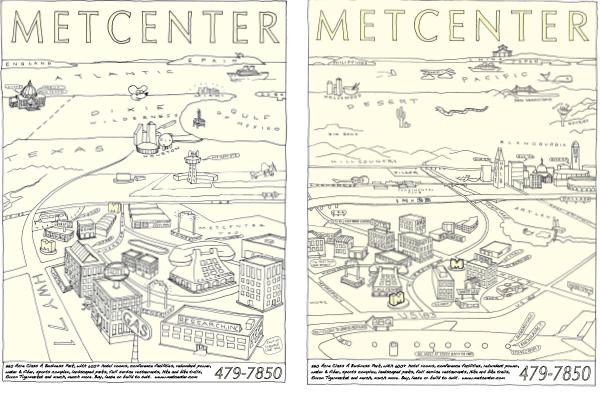 MetCenter Advertisements