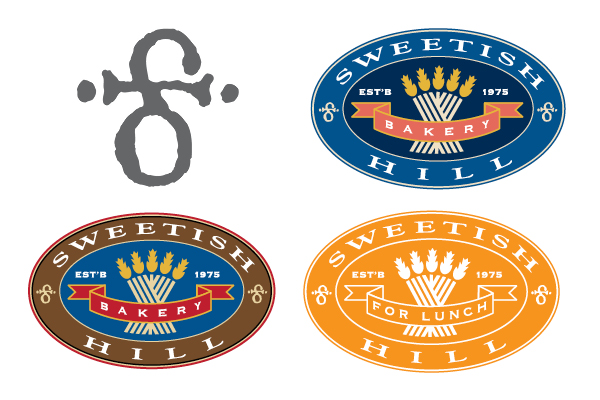 Sweetish Hill Logos